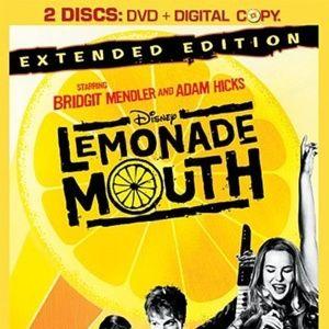LEMONADE MOUTH EXTENDED 2 DISCS DVD + CD